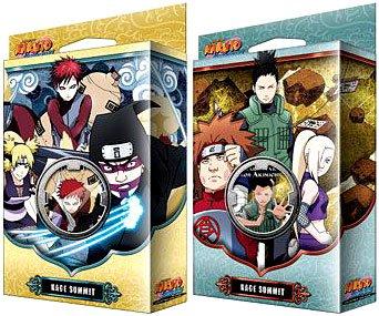 Naruto Shippuden Card Game Kage Summit Set of Both Theme Decks Siblings Fury Permapower