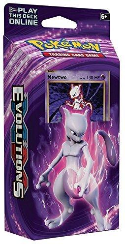 XY Evolutions Mewtwo Mayhem English Theme Deck