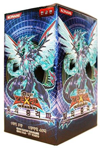 Yu-Gi-Oh Konami Yugioh Card ZEXAL Booster Pack Box OCG 200 Cards Photon Shockwave Korea Version