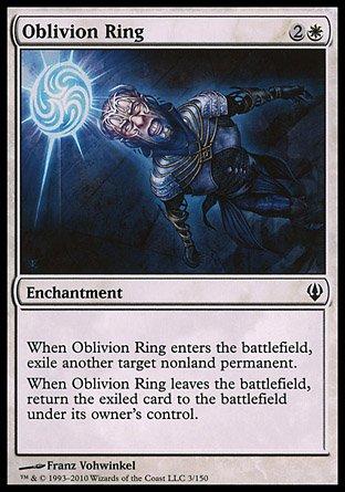 Magic the Gathering Oblivion Ring - Archenemy