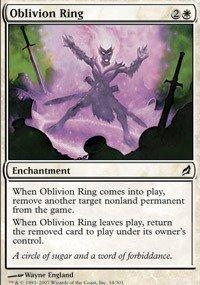Magic the Gathering - Oblivion Ring - Lorwyn