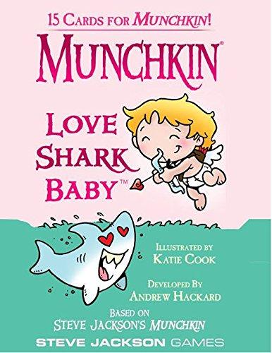 Steve Jackson Games Munchkin Love Shark Baby Card Game