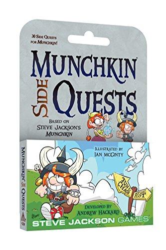Steve Jackson Games SJG4264 Munchkin Side Quests Games