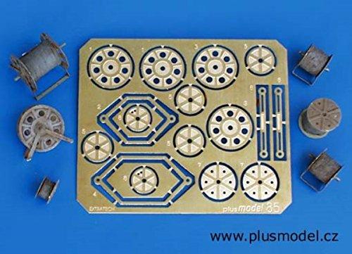 Plus Model 135 Operator Reels Resin PE Diorama Accessoy 085