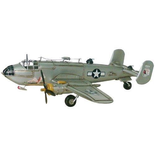Pretty Valley Home - Retro Classic Handmade Iron B - 25 PLANE Model Craft Figure