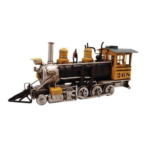 Pretty Valley Home - Retro Classic Handmade Iron Pioneer Locomotive No 42 Anglo - Saxon Model Craft Figure