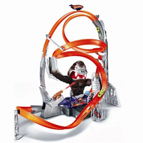 Hot Wheels Gorilla Attack Track Racing Set