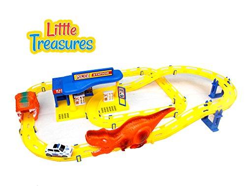 Little Treasures Toy Dragon Tracks Racing Track Play Set