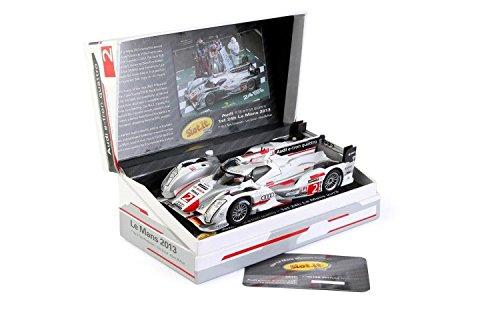 SlotIt Audi R18 E-tron Quattro Len Mans Winner 2013 2 Performance Slot Car 132 Scale