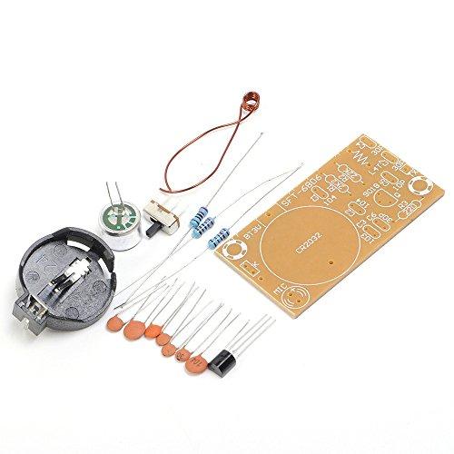 Icstation DIY Wireless FM Microphone Transmitter Kit Electronics Soldering Practice Set