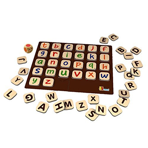 Viga Wooden Learning Alphabet Game by Viga