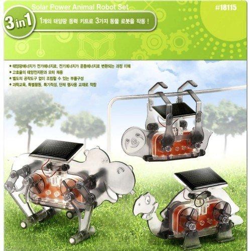 Solar Power Animal Robot Set  Educational Kit  18115 Academy