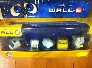 WALL E DISNEY PIXAR 5 x ROBOT PACK SET