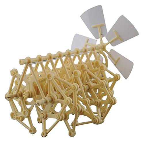 """MERSUIIâ""""¢ Wind-powered Animaris Ordis Parvus Strandbeest Model Robot"""
