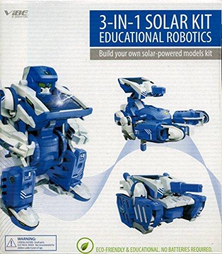 Vibe E-ssential 3 in 1 Solar Kit Solar-powered Models Robot- Tank- Scorpion