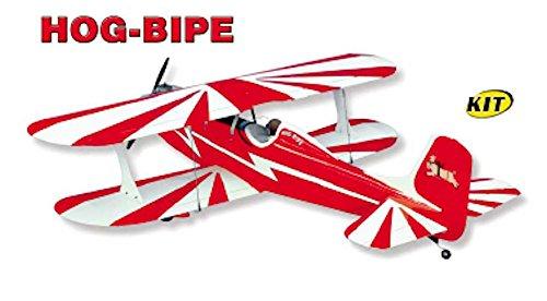 SIG HOG BIPE KIT Model Airplane Unassembled Kit Die Cut Parts Easy Build RC Aircraft