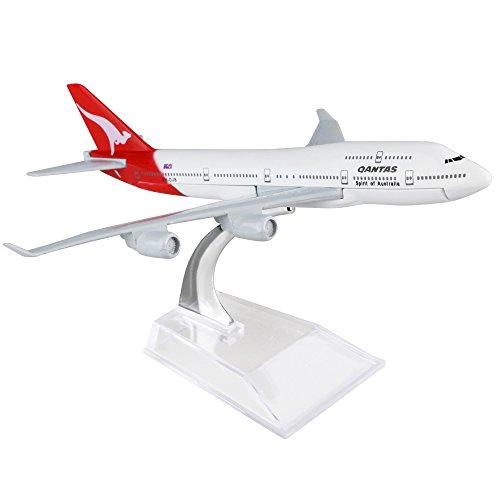 Australia Qantas Boeing 747 16cm Metal Airplane Models Child Birthday Gift Plane Models Home Decoration