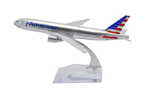 TANG DYNASTYTM 1400 16cm Boeing B777 NEW American Airlines Metal Airplane Model Plane Toy Plane Model