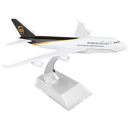 UPS Boeing 747 16cm Metal Airplane Models Birthday Gift by HANGHANG