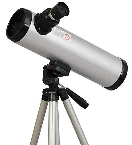 Twinstar 76mm Cassegrain Kids Telescope Silver