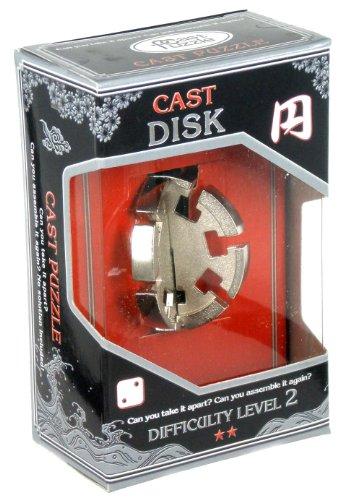 Cast Disk - Hanayama Cast Metal Puzzle