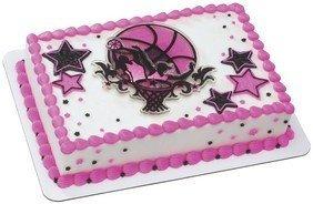Item40947 - Basketball Stars Girl Cake Toppers by CakeSupplyShop