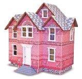 Melissa Doug Classic Heirloom Victorian Wooden Dollhouse