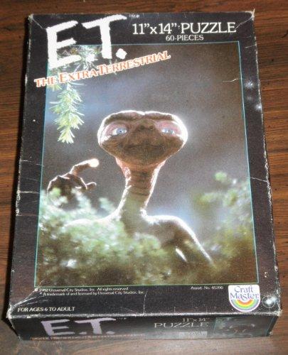 ET The Extra-Terrestrial 11X14 60 Piece Puzzle