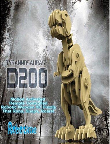 RC Wooden T-Rex Puzzle
