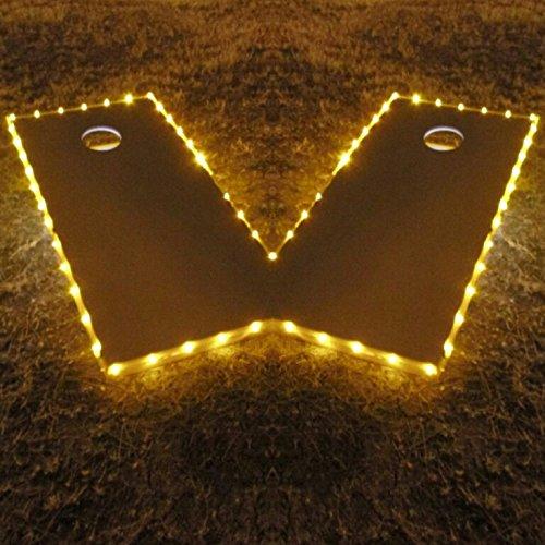 Pro Glow Cornhole Lights Yellow