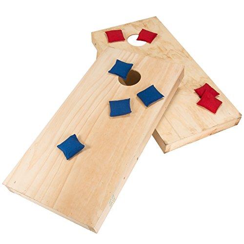 Trademark Do-It-Yourself Regulation Size Cornhole Boards and Bags Cornhole