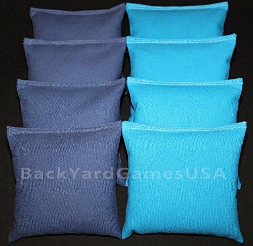 Cornhole Bean Bags Blue Turquoise 8 Aca Corn Hole Game Bags