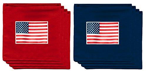 American US Flag USA 95oz Baggo Bean Bags by BAGGO