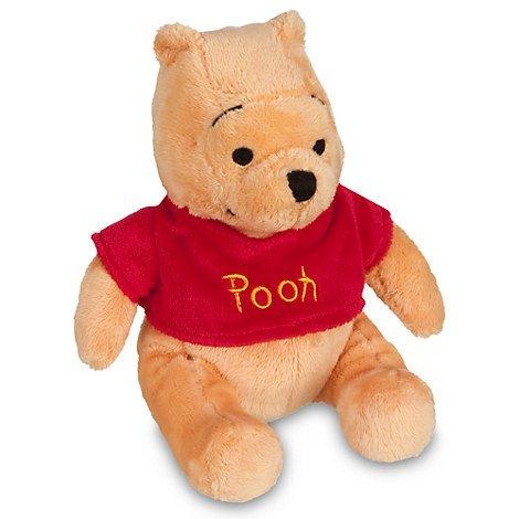 Disney Winnie the Pooh Plush Mini Bean Bag Toy -- 7
