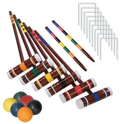 Franklin Sports 3332S106 Intermediate 6 Player Croquet Set