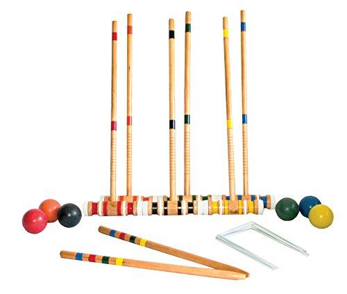 Triumph Sports 6-Player Croquet Set