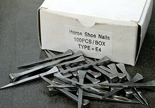 Steel Horse shoes Nails for Horseshoes 100pcs1lot