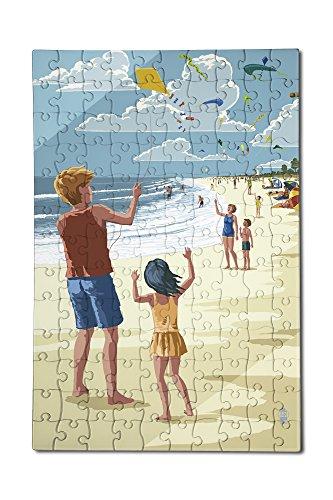 Kite Flyers 12x18 Premium Acrylic Puzzle 130 Pieces