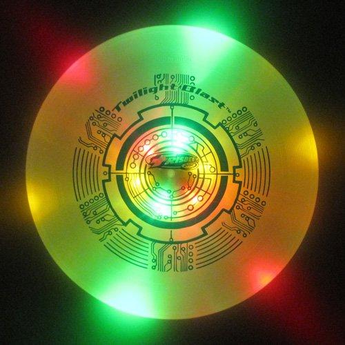 Wham O Twilight Blast LED Frisbee Flying Disc