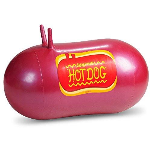 WALIKI TOYS Jumping Hot Dog Hop Hopping Hopper Bouncy Ball