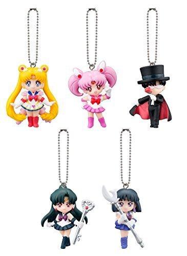 Bandai Gashapon Sailor Moon Swing Part 3 Set of 5 by Gashapon