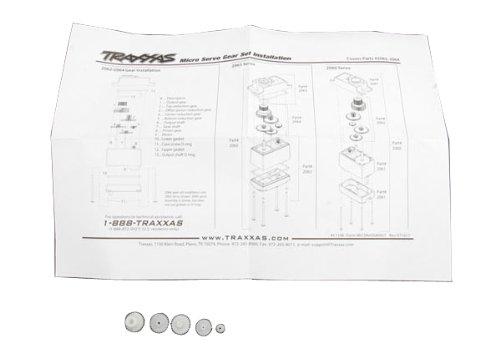 Traxxas 2064 Gear Set for 2065 Servo