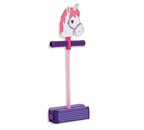 Hop Squeak Unicorn Pogo Jumper