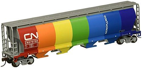 Bachmann Trains Canadian National Demonstrator 4 Bay Cylindrical Grain Hopper