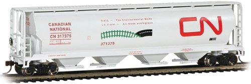 Bachmann Trains Cn Enviromental Mode 4 Bay Cylindrical Grain Hopper
