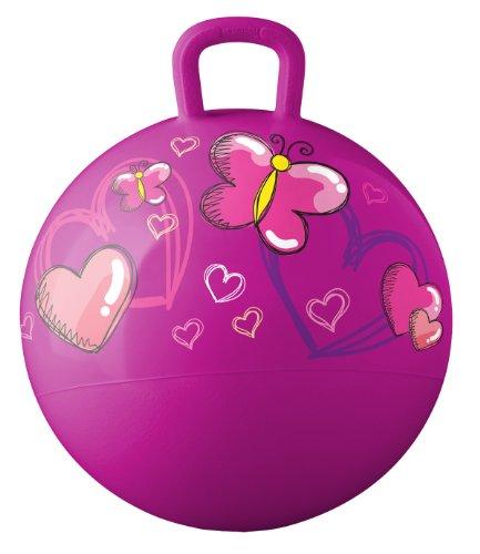 Hedstrom Hearts and Butterflies Hopper ball kids ride-on bouncy ball 18-Inch