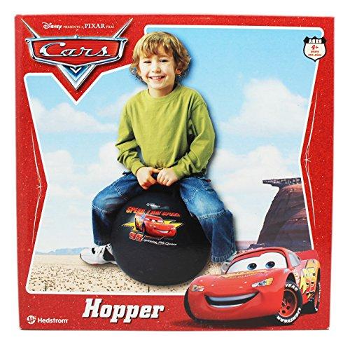 Pixar Disney Cars Lightning McQueen Black Inflatable Hopper