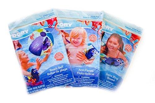 Finding Dory Nemo Pool Swim Floats Swim Ring and Beach Ball Bundle