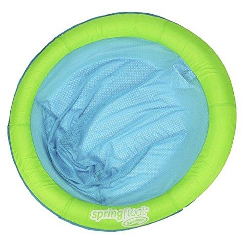 SwimWays Spring Float Papasan Blue Aqua