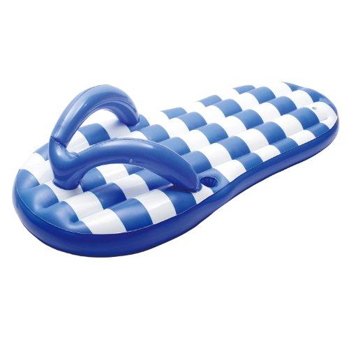 Blue Wave Marine Blue Flip Flop Inflatable Pool Float 71